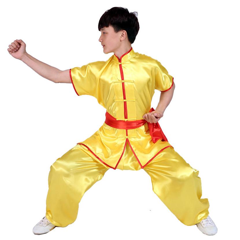 لباس چانگ زرد
