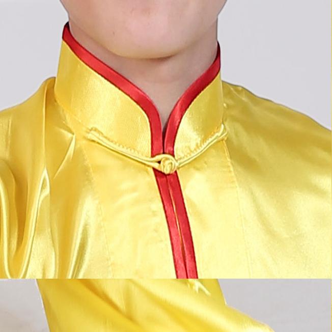 لباس چانگ چوان ووشو ( زرد)