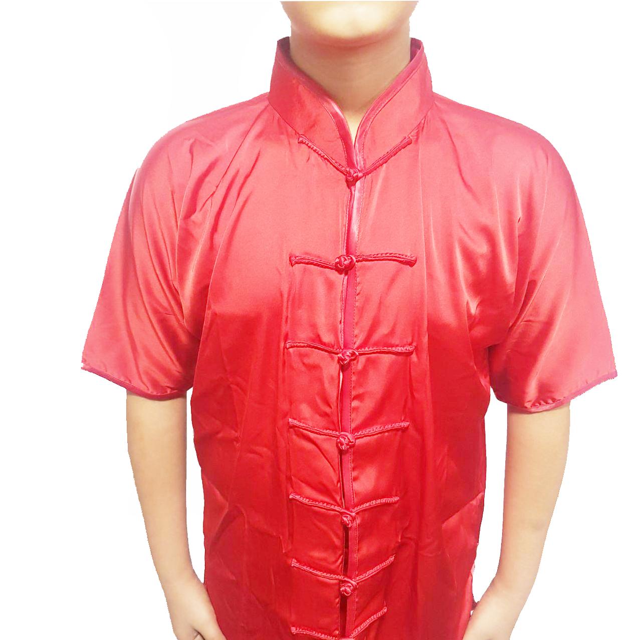 لباس چانگ چوان ووشو قرمز